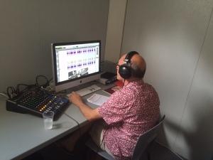 Ivan Lattay, en charge des musiques des projections