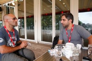 João Silva et Bulent Kilic, transmetteurs de cette édition 2015 (c) Mazen Saggar